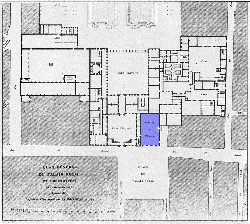 800px-Plan_général_du_Palais-Royal_1679_(Opera_in_blue)_-_Gourret_1985_p42